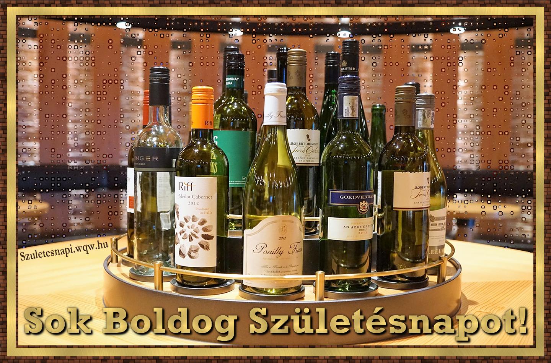 boldog születésnapot bor Egy tálca bor, születésnapi kép férfiaknak   Zenés születésnapi  boldog születésnapot bor