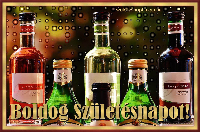 boldog születésnapot bor Többféle bor, szülinapi kép férfiaknak   Zenés születésnapi  boldog születésnapot bor