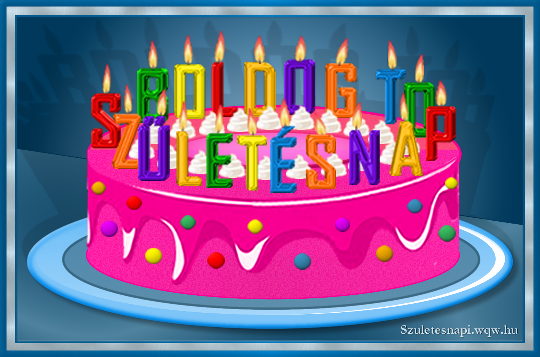 torta képek letöltése Születésnapi torta kép, boldog születésnapot gyertyákkal   Zenés  torta képek letöltése