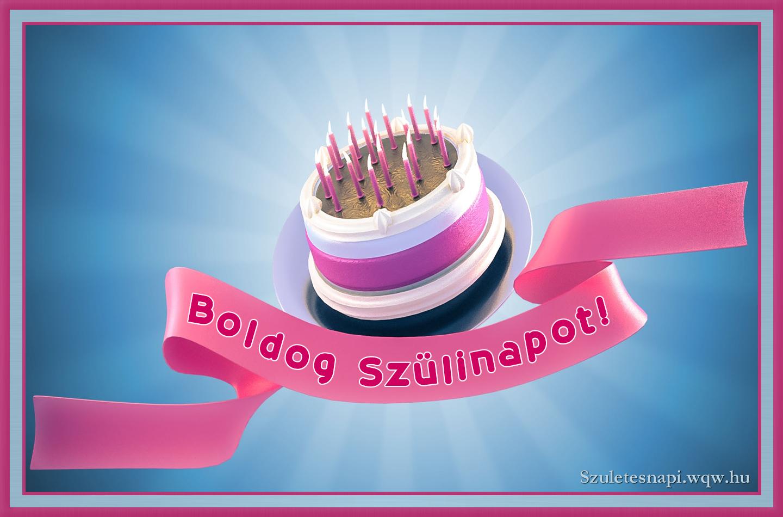 torta képek letöltése Születésnapi torta szalaggal   Zenés születésnapi képeslapok és képek torta képek letöltése